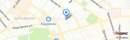 Нитроди на карте Иркутска