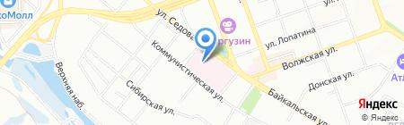 Клиническая лаборатория на карте Иркутска