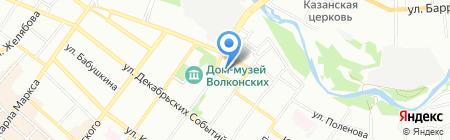 BELLA CUCINA на карте Иркутска