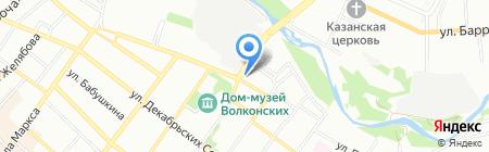 Сибавтоваз на карте Иркутска