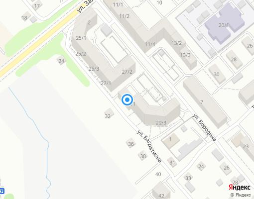Товарищество собственников жилья «Бородино» на карте Иркутска