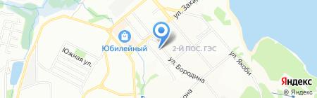 Лунтик на карте Иркутска