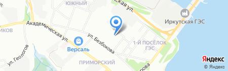 Детский сад №132 на карте Иркутска