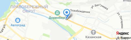 Барс на карте Иркутска