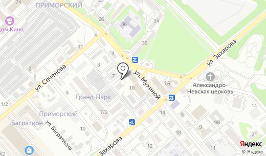 Банкомат ОТП Банк. Схема проезда в Иркутске