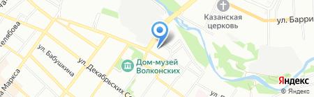 Торговая компания на карте Иркутска