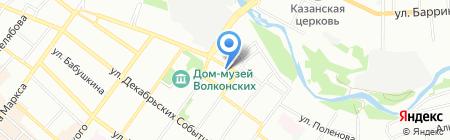 ИнвестСтройПроект на карте Иркутска