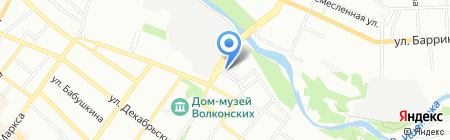 МатрасМаркет White на карте Иркутска