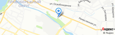 Грегори Моторс на карте Иркутска