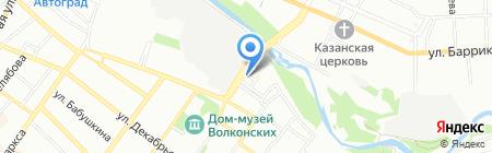 ЮНИЛАБ-Иркутск на карте Иркутска
