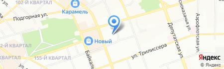 Детский сад №138 на карте Иркутска