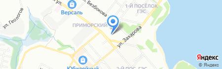 Кристалл на карте Иркутска