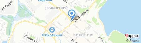 Тофа на карте Иркутска