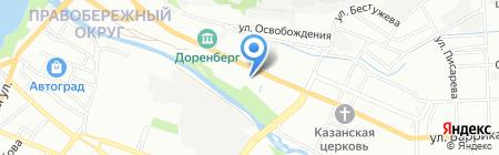Мир автомасел на карте Иркутска