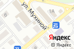 Схема проезда до компании На Мухиной в Иркутске