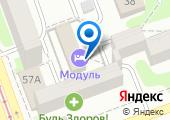 Модуль на карте