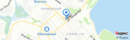 Школа Романова на карте Иркутска