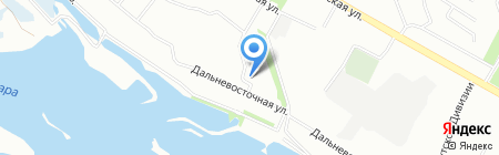 София на карте Иркутска