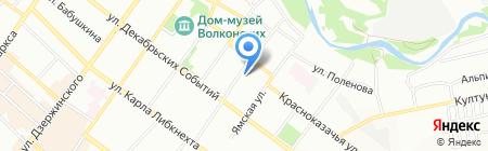 Сезам-Сервис на карте Иркутска