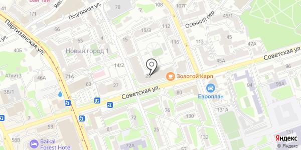Люмери. Схема проезда в Иркутске