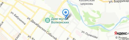 Барьер на карте Иркутска
