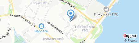 2 отдел полиции на карте Иркутска