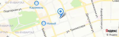 Проектный центр на карте Иркутска