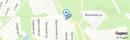 Бирюсинка на карте Иркутска