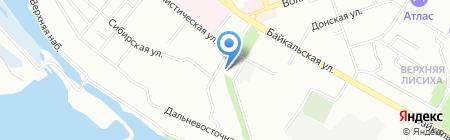 RemComp на карте Иркутска