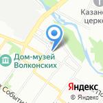 Сибирско-Уральская компания на карте Иркутска