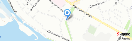 Оптика Премиум на карте Иркутска