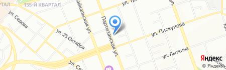 StudioS+ на карте Иркутска