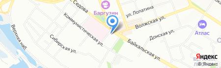 Банкомат АКБ Связь-Банк на карте Иркутска