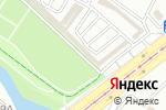 Схема проезда до компании Иркутск-Шина в Иркутске
