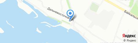 Zara City на карте Иркутска
