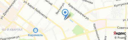 Банкомат АКБ РОСБАНК на карте Иркутска