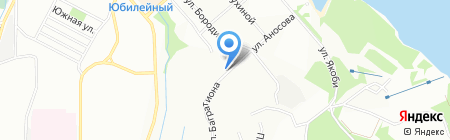 Нордвест на карте Иркутска