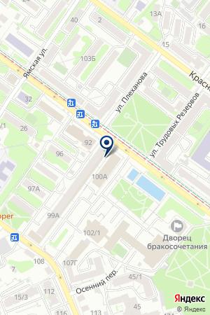 БАЛТИЙСКИЙ БАНК на карте Иркутска