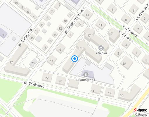 Товарищество собственников жилья «Волна Ангары» на карте Иркутска