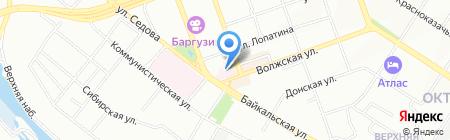 Женская консультация на карте Иркутска