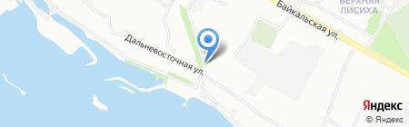 Прекрасные цветы на карте Иркутска