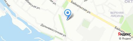МДМ Банк на карте Иркутска