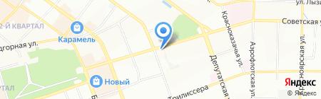 Плутон на карте Иркутска