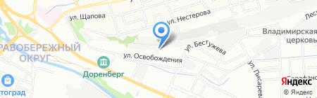 Автогаражный кооператив №37 на карте Иркутска