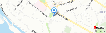 БВК на карте Иркутска