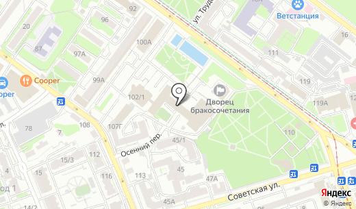 Стройка Века. Схема проезда в Иркутске