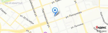 Магазин товаров смешанного типа на карте Иркутска