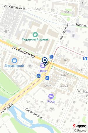 АЗС ЭЛАРА на карте Иркутска