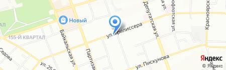 Monel на карте Иркутска
