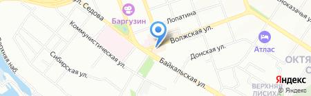 Окна Гут на карте Иркутска
